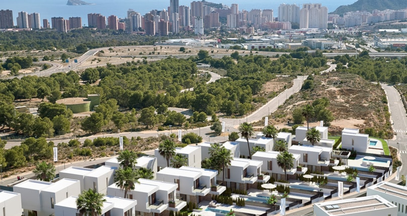 Briefly: New builds take over second-hand property in Spain: prices go up by 10% and sales by 7%